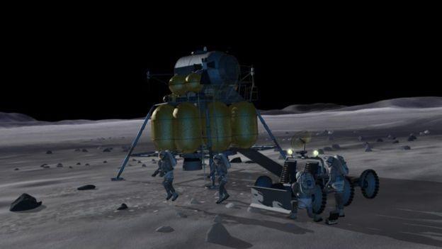 Figura 1. Cápsula que levará os astronautas até a lua. Foto: NASA.